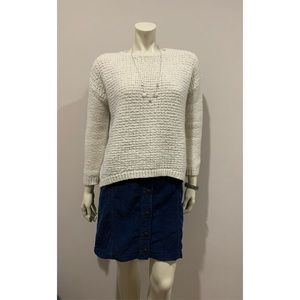 SOLD Bundled Corduroy Skirt & Sweater Outfit